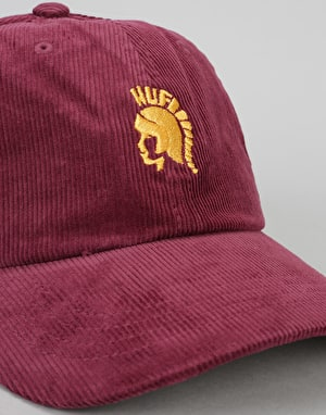 HUF Jimmy Curve Visor 6 Panel Cap - Wine