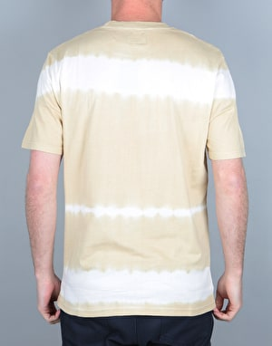 Stüssy Spray Stripe T-Shirt - Khaki