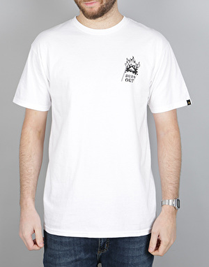 Emerica Burn Outs T-Shirt - White