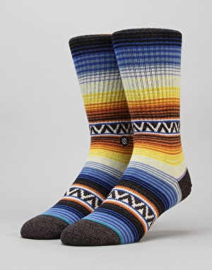 Stance Sun Burst Classic Light Socks - Orange