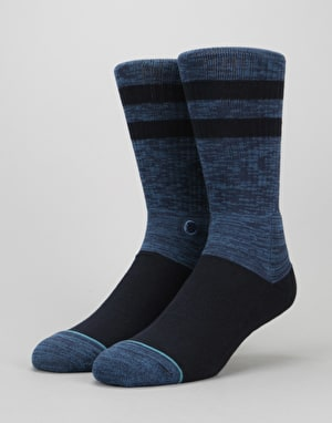 Stance Domain Classic Crew Socks - Navy