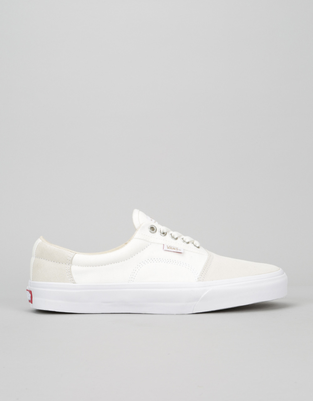 25ebc6830a0002 Vans Rowley Solos Pro Skate Shoes - (Herringbone) White