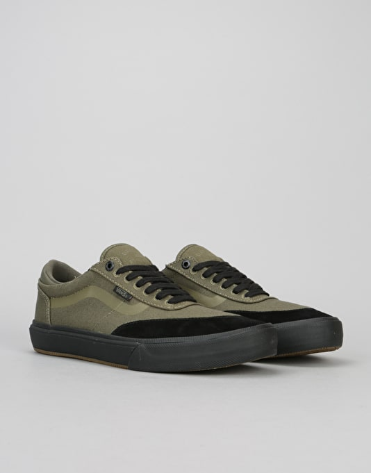 Vans Gilbert Crockett 2 Pro Skate Shoes - Ivy Green/Black