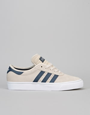 Adidas Adi-Ease Premiere ADV Skate Shoes - Clear Brown/Navy/White