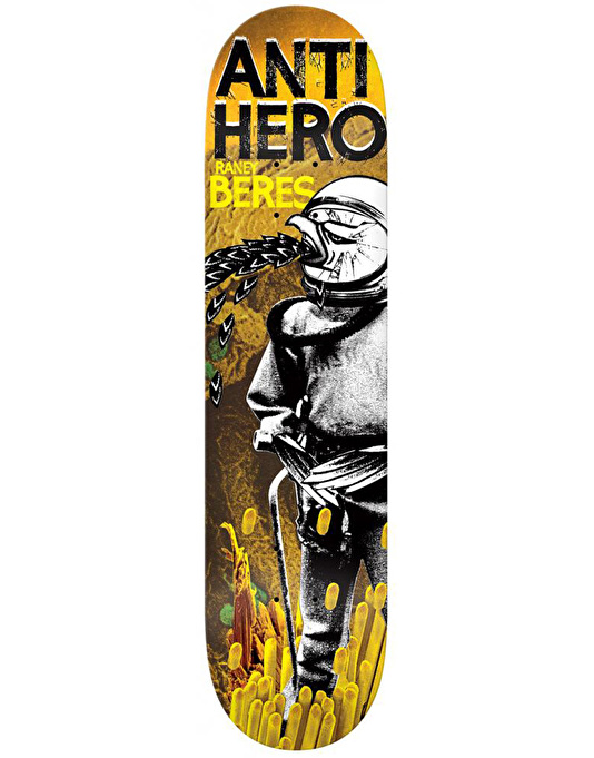 Anti Hero Beres Wild Unknown Skateboard Deck - 8.38""