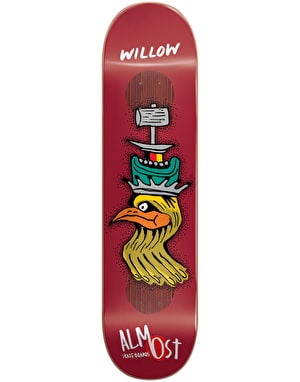 Almost Willow Bird Shits Impact Plus Pro Deck - 8.375
