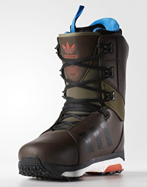 Adidas Tactical 2017 Snowboard Boots - Brown/Olive Cargo/Craft Chilli