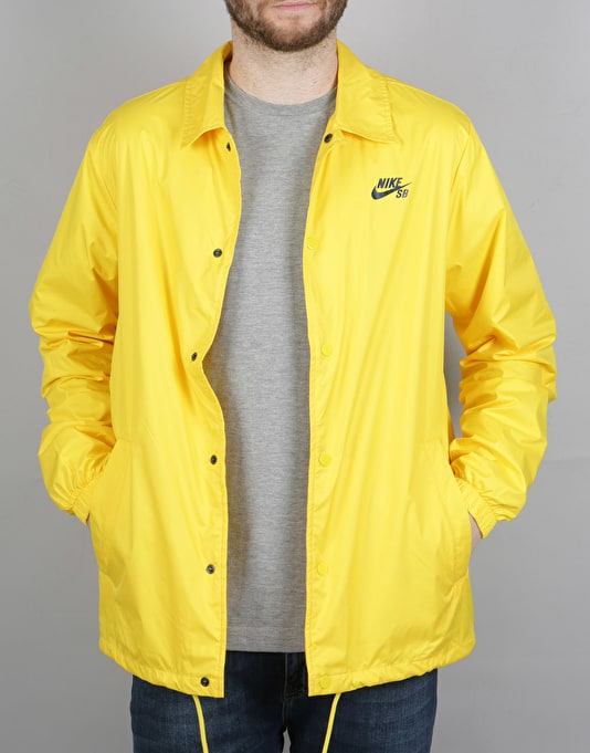 Nike SB Shield Coaches Jacket - Tour Yellow Obsidian  409f2c710