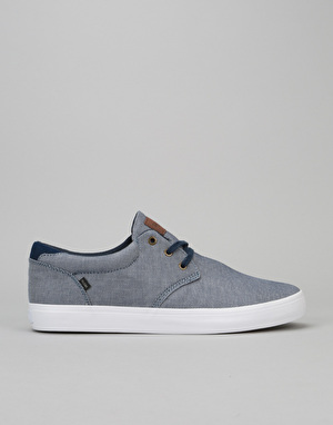 Globe Willow Skate Shoes - Navy Chambray