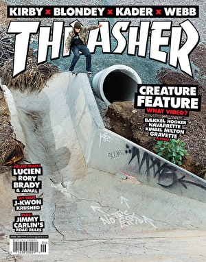Thrasher Magazine Issue 443 June 2017