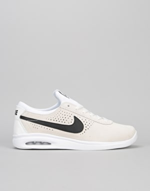 Nike SB Air Max Bruin Vapor Skate Shoes - Summit White/Black-White