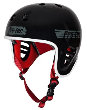Pro-Tec Full Cut Helmet - Gloss Black