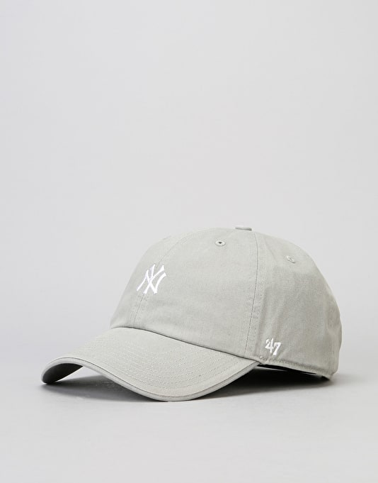 '47 Brand MLB New York Yankees Centrefield Clean Up Cap - Grey