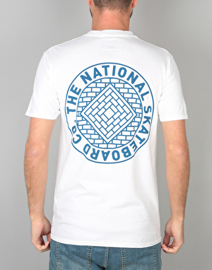 The National Skateboard Co. Union T-Shirt - White