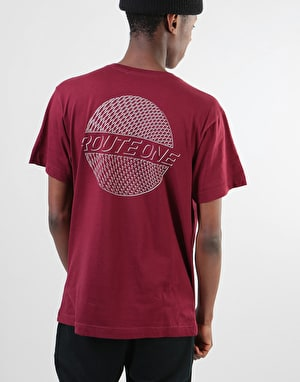 Original Trippin T-Shirt - Burgundy