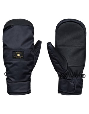 DC Franchise 2018 Snowboard Mitts - Black
