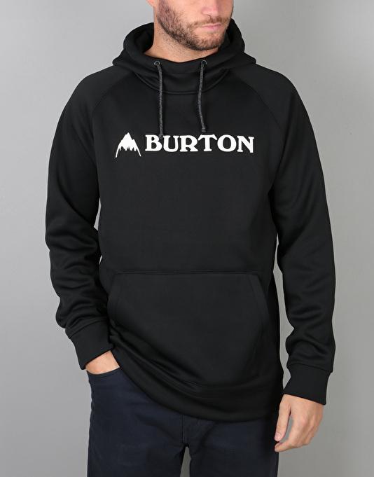 Burton Crown Bonded Pullover Hoodie - True Black