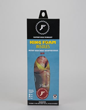 Footprint Hart King Foam 7mm Hi-Profile Insoles