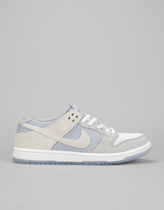 official photos 47628 f2e14 ... purchase nike sb zoom dunk low pro skate shoes wolf grey summit white  clear 66019 a551c
