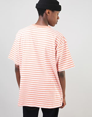 Obey Eighty Nine Box S/S T-Shirt - Coral Multi