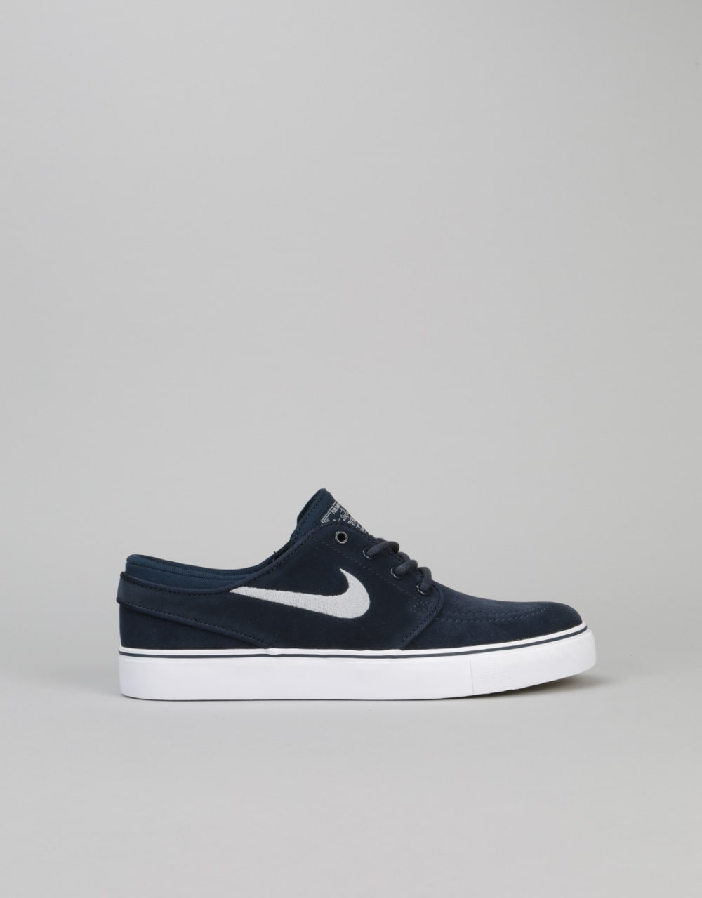 wholesale dealer da637 02433 Nike SB Stefan Janoski Boys Skate Shoes - ObsidianWolf GreyWhite  Nike SB   Skate Shoes, Clothing  Accessories  Route One