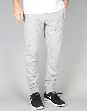 Hype Scattered Rose Joggers - Grey Marl
