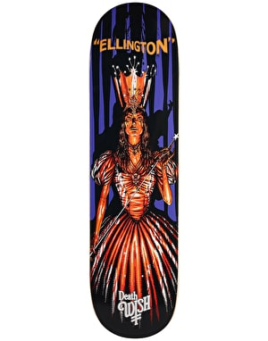 Deathwish Ellington Nightmare In Emerald City Skateboard Deck - 8.25