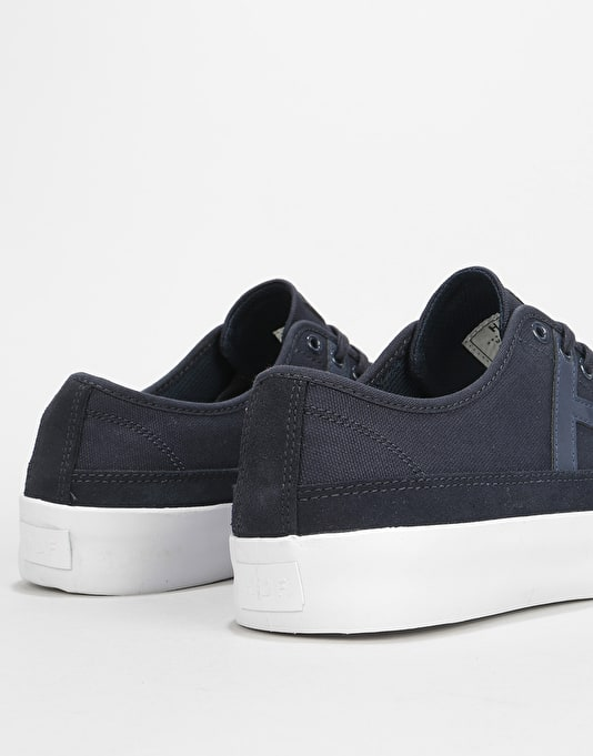 HUF Hupper 2 Lo Skate Shoes - Navy Moonlight