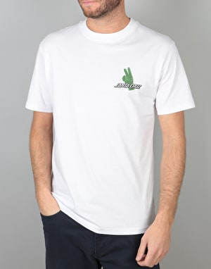 Santa Cruz Atomic Peace T-Shirt - White