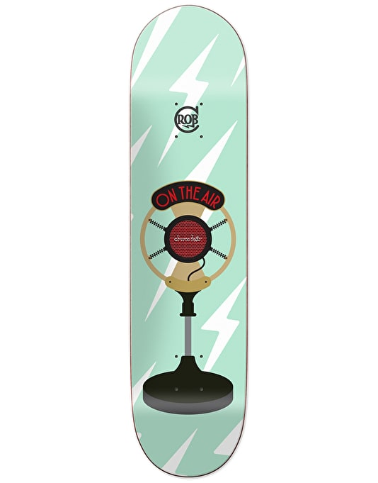 Chocolate Roberts On-Air Skateboard Deck - 7.75""