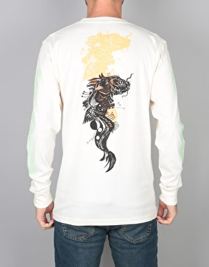 Welcome Koi Boi L/S T-Shirt - Bone
