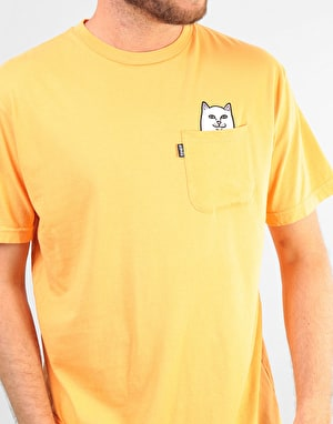 RIPNDIP Lord Nermal Overdyed T-Shirt - Orange