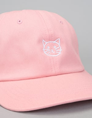 Route One Pussy Dad Cap - Pastel Pink