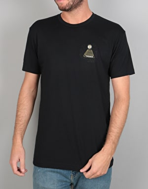 Theories x Soy Panday Ostrich Effect T-Shirt - Black