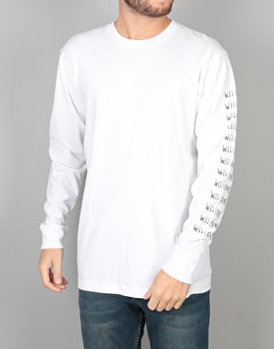 Welcome Twenty Eyes L/S T-Shirt - White