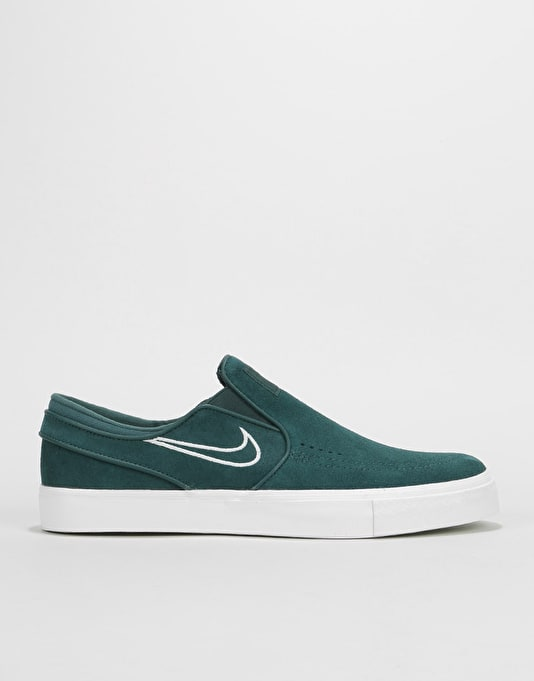 f0dba7496d1e Nike SB Zoom Stefan Janoski Slip On Skate Shoes - Deep Jungle Barely ...
