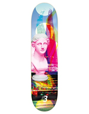 Colourblind City or Bust Skateboard Deck - 8.375