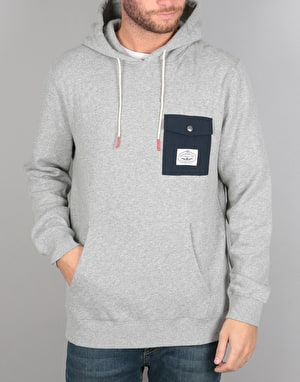 Poler Bagit 2.0 Pullover Hoodie - Grey Heather