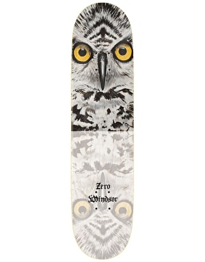 Zero Windsor Owl Impact Light Skateboard Deck - 8.375