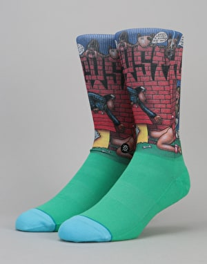 Stance x Snoop Dogg Doggy Style 200 Needle Socks - Green
