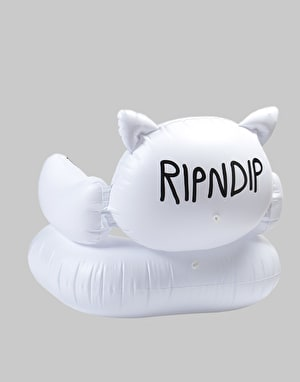 RIPNDIP Lord Nermal Inflatable Chair - White