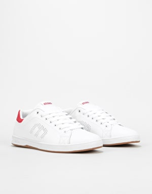 Etnies Callicut LS Skate Shoes - White/Red