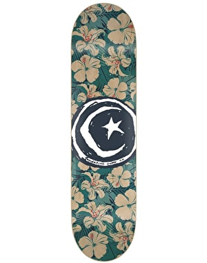Foundation Star & Moon Tropics Skateboard Deck - 8.375