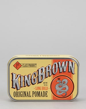 King Brown Original Pomade 71g Hair Product