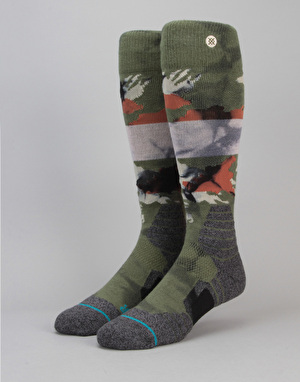 Stance Bravo Snow All Mountain Snowboard Socks - Camo