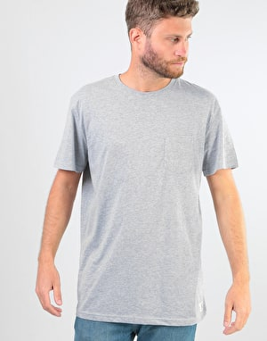 DC Basic Pocket 2 T-Shirt - Grey Heather