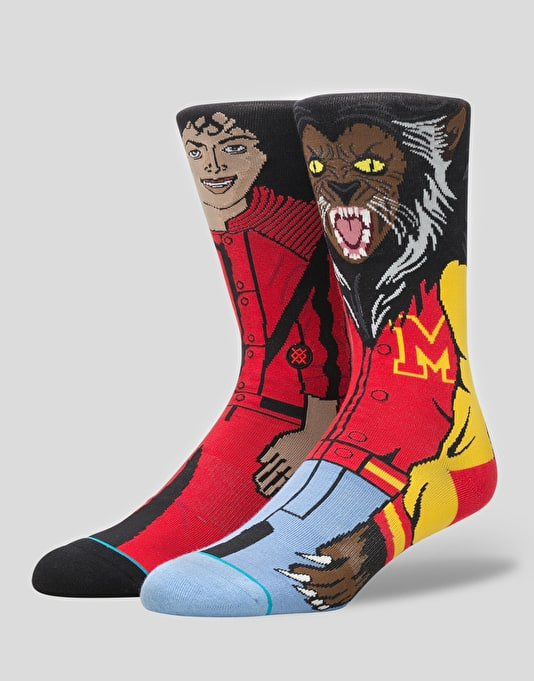 Stance x Michael Jackson Socks - Red
