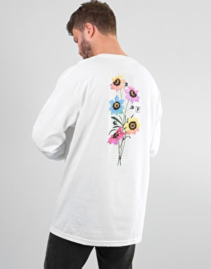 Primitive Daze L/S T-Shirt - White