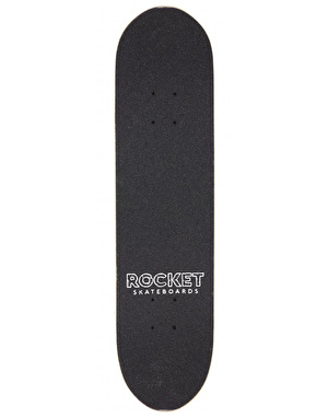 Rocket Aztec Mask Mini Complete Skateboard - 7.375