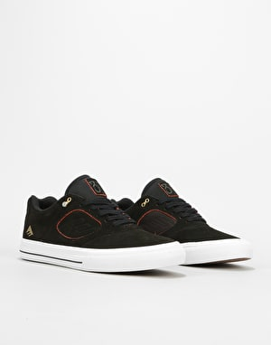 Emerica Reynolds 3 G6 Vulc Skate Shoes - Grey/Orange